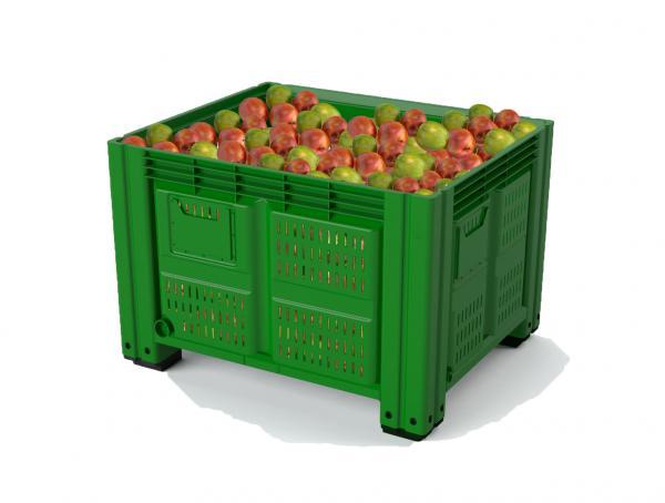 В чем нужно храните фрукты и овощи?